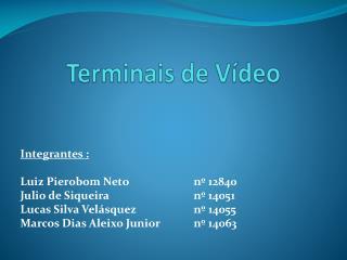 Terminais de Vídeo