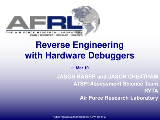 Reverse Engineering with Hardware Debuggers