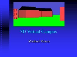 3D Virtual Campus
