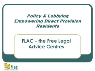 Policy & Lobbying Empowering Direct Provision Residents