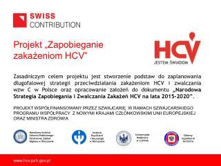 """Projekt """"Zapobieganie zakażeniom HCV"""""""
