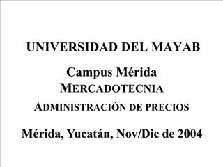 M rida, Yucat n, Nov