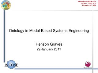 Ontology in  Model-Based Systems Engineering