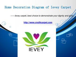 Home Decoration Diagram of Ievey Carpet