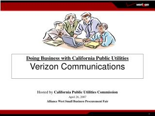 Doing Business with California Public Utilities Verizon Communications