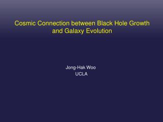 Cosmic Connection between Black Hole Growth and Galaxy Evolution
