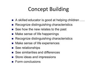 Concept Building