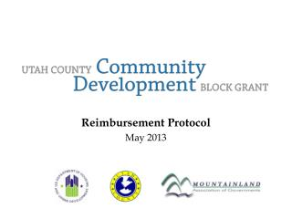 Reimbursement Protocol  May  2013