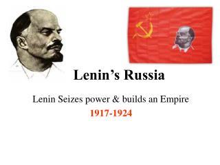 Lenin's Russia