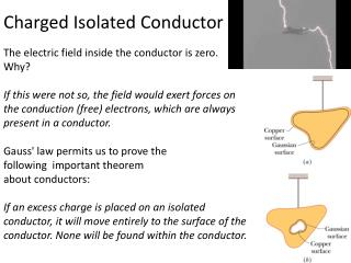 Charged Isolated Conductor