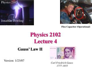 Physics 2102  Lecture 4