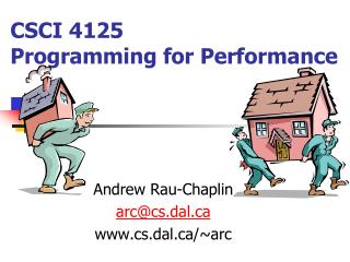 CSCI 4125  Programming for Performance