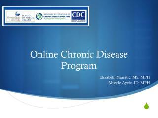 Online Chronic Disease Program