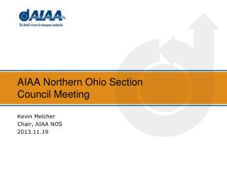 AIAA Northern Ohio Section Council Meeting