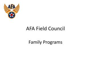 AFA Field Council