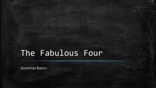 The Fabulous Four