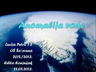 Anomalija vode