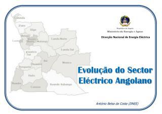 Evolução do Sector Eléctrico Angolano