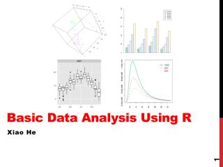 Basic Data Analysis Using R