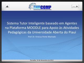 Prof. Dr.  Vinicius  Ponte Machado