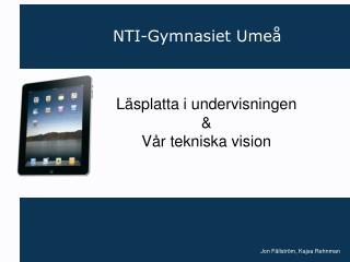 NTI-Gymnasiet Umeå