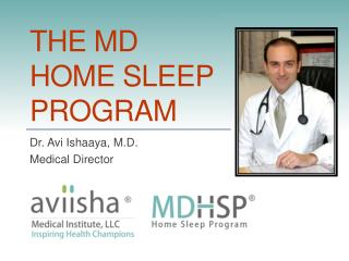 THE MD HOME SLEEP PROGRAM