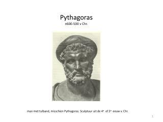 Pythagoras ±600-500 v Chr.