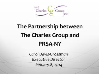 The Partnership between The Charles Group and PRSA-NY