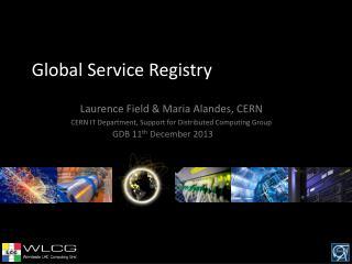 Global Service Registry