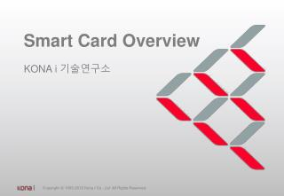 Smart Card Overview