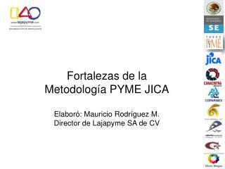 Fortalezas de la Metodología PYME JICA