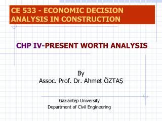 By Assoc. Prof. Dr. Ahmet ÖZTAŞ