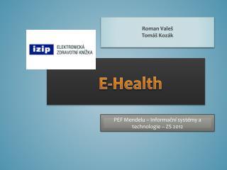 E- Health