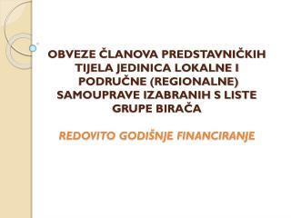 1. KORAK OTVARANJE POSEBNOG RAČUNA ZA  REDOVITO GODIŠNJE FINANCIRANJE POLITIČKIH AKTIVNOSTI