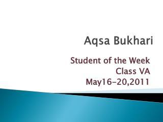 Aqsa Bukhari