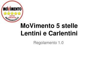 MoVimento 5 stelle Lentini e Carlentini