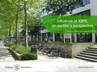 Influence  of XBRL an auditor's perspective