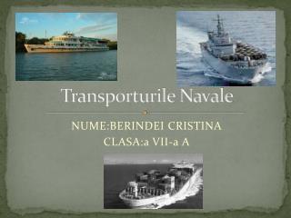 Transporturile Navale