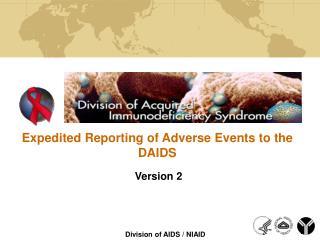 DAIDS Planning Update