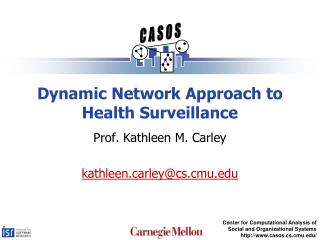 Dynamic Network Approach to Health Surveillance