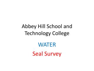 Abbey Hill School and Technology College