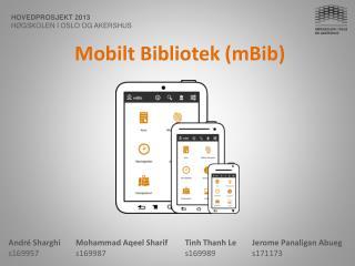 Mobilt Bibliotek  ( mBib )