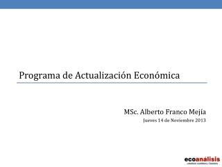 Programa de Actualización Económica