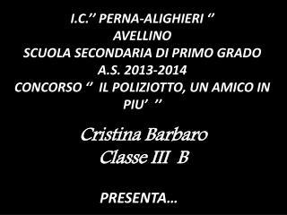 I.C.'' PERNA-ALIGHIERI '' AVELLINO SCUOLA SECONDARIA DI PRIMO GRADO A.S. 2013-2014