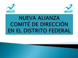 NUEVA ALIANZA COMITÉ DE DIRECCIÓN EN EL DISTRITO FEDERAL