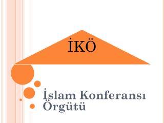 İslam Konferansı Örgütü