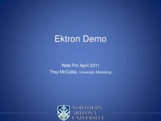Ektron  Demo