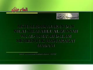 Oleh :  Muhammad  Fathurrohman ,  M.Pd.I