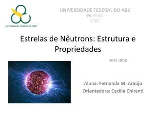 Estrelas de Nêutrons: Estrutura e Propriedades