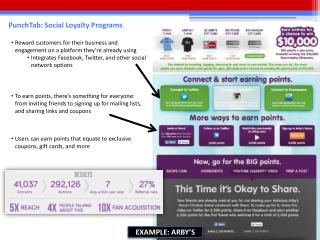 PunchTab: Social Loyalty Programs